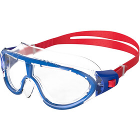 speedo Biofuse Rift Goggles Kinderen, red/clear